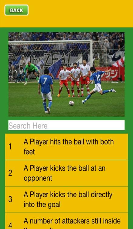 Football Rules Quiz