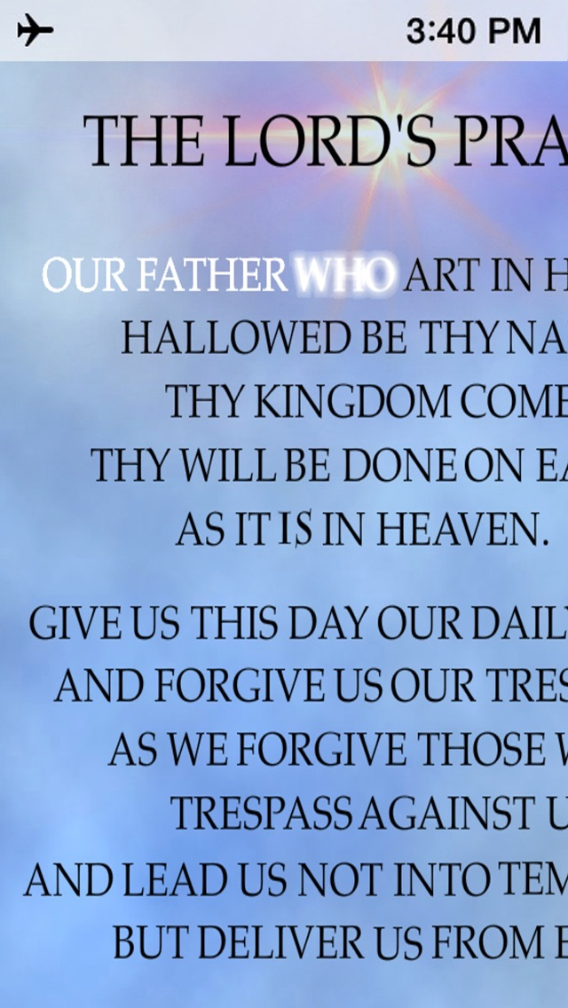The Lords Prayer Anointed-1