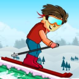 Ski-Cross Flying Trials : Fresh Powder Slope-s Free