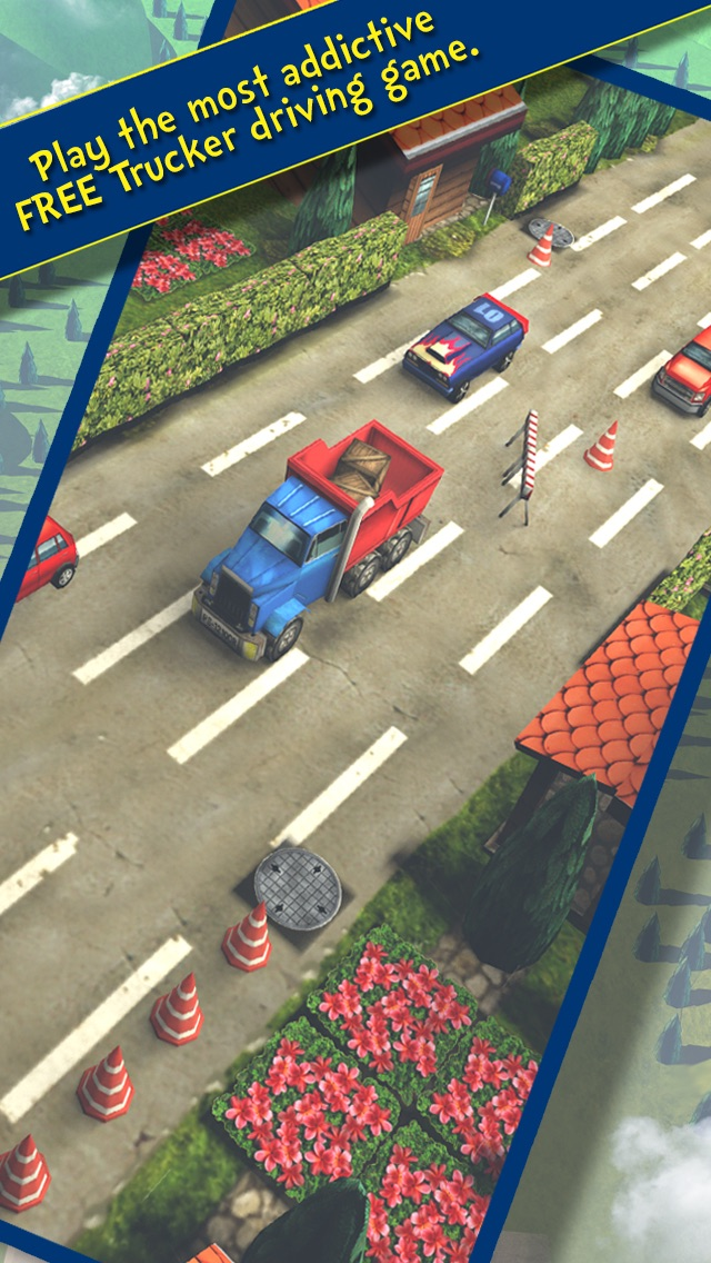 Truck on the Move: Best 3D Free Driving Challenge Game with