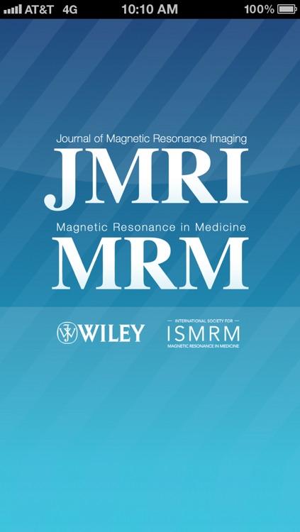 ISMRM Journals
