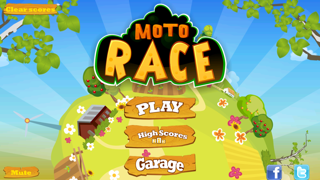 Screenshot #1 pour Moto Race Free