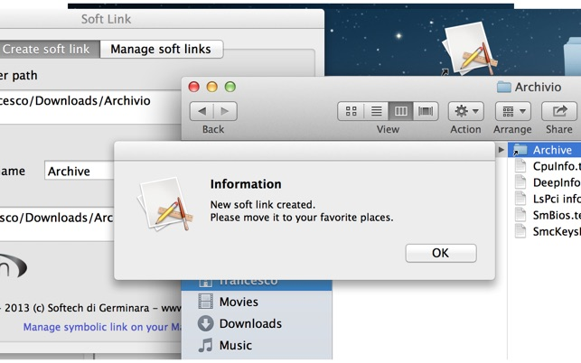 Soft Link On The Mac App Store