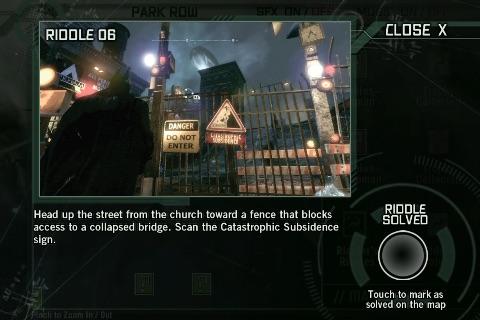 Batman Arkham City Official Map App screenshot-3