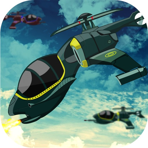 Air Helicopter Assault Shooter - Top Sky Driving Battle Free