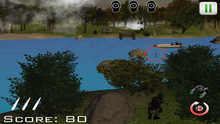 Jungle Combat - Sniper Conflict Free screenshot-2