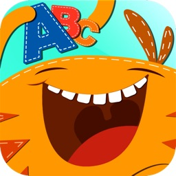 Monster Alphabet : Make Preschool Learning Fun - 8 Educational Games for Kindergarten Kids - letter tracing, coloring, reading & spelling, memory match, puzzle and quiz based on Montessori Method by ABC BABY