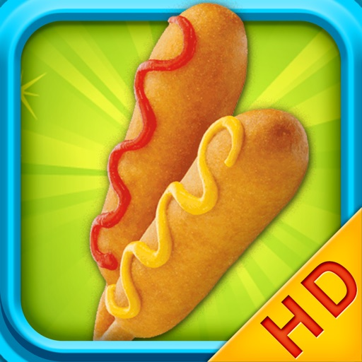 Corn Dogs Maker - Cooking games HD icon
