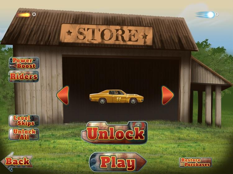 Illegal Moonshine Free: Stock car speed racing game screenshot-4