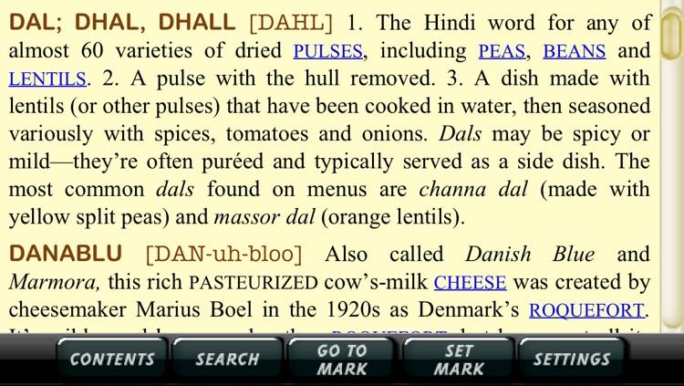 The New Food Lover's Companion, 4th ed. screenshot-3