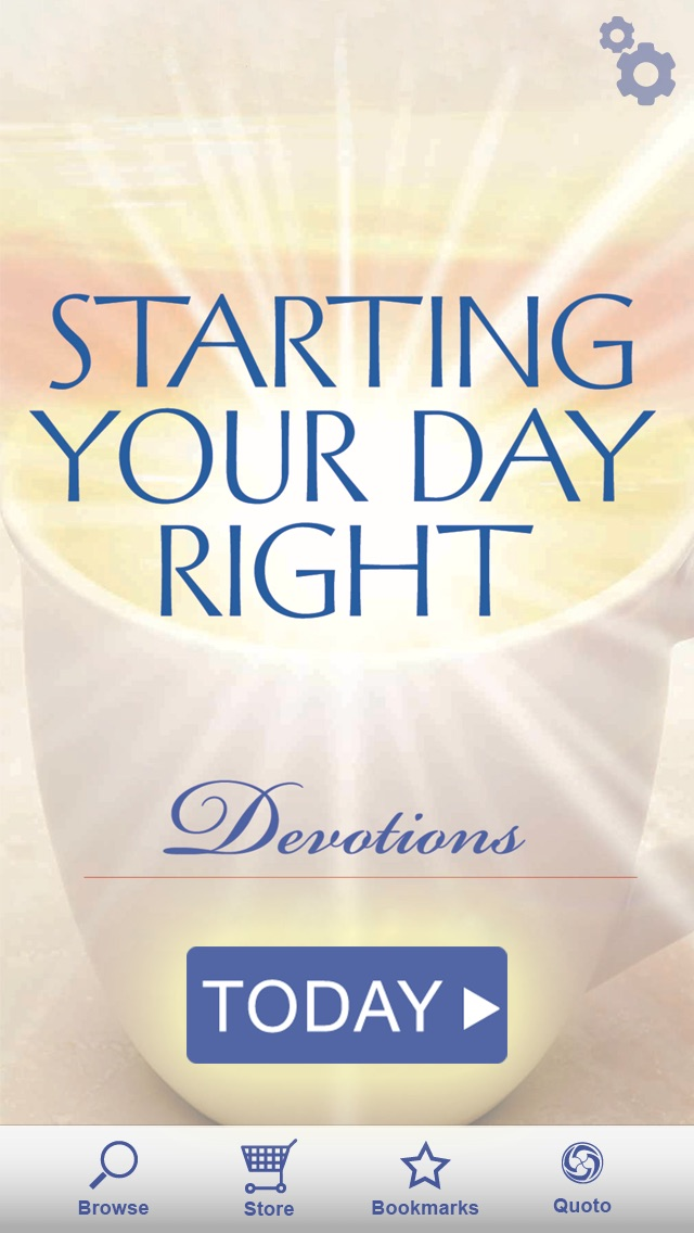 Starting Your Day Right Devotional review screenshots