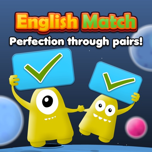 English Match: Letters, Numbers & Words