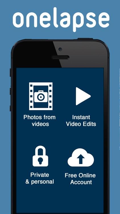onelapse   -freeze your videos & unfreeze your memories ! screenshot-4