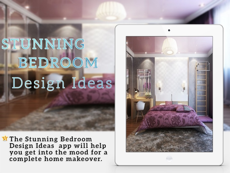 Stunning Bedroom Design Ideas for iPad