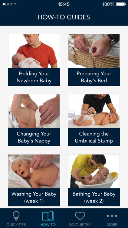 Quick Tips For New Dads: survival guide for expectant fathers on pregnancy, labour, childbirth and newborn baby care screenshot-4