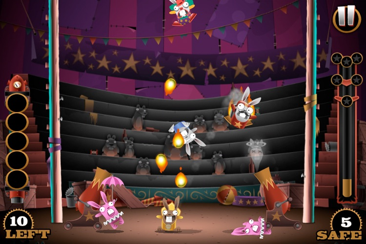 Stunt Bunnies Circus screenshot-3