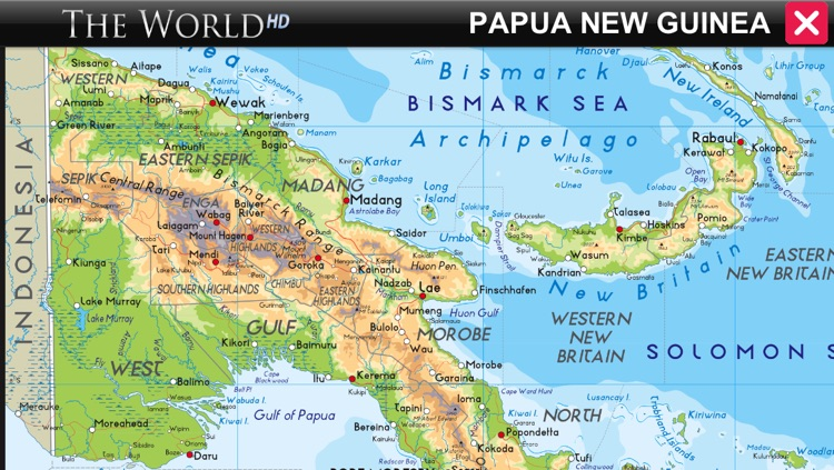 WORLD ATLAS - The World HD+ (with Retina Maps) screenshot-3