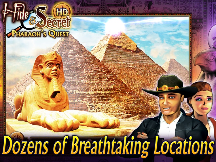 Hide and Secret: Pharaoh's Quest HD screenshot-3