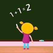 Kindergarten Math: Drills in Addition, Subtraction, Comparison icon