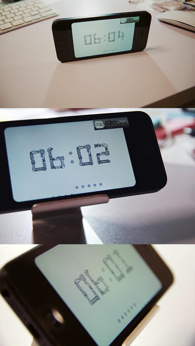 機械仕掛けの時計アプリ Liteのスクリーンショット2