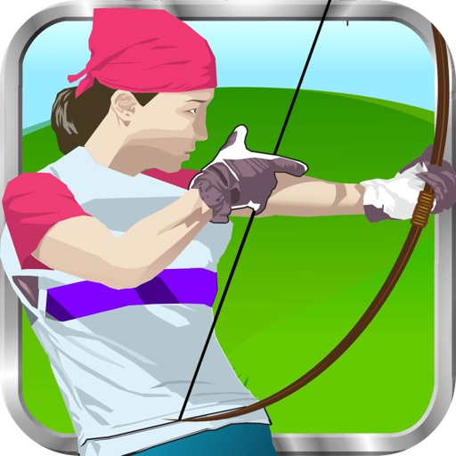 Bow of shooting sport PRO - Load the arrow and shoot him the object to have the doll head. Show your skills and become the best archer in of the sport