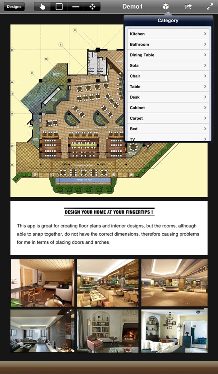 Interior Design 3D- floor plan & home calculator screenshot-2