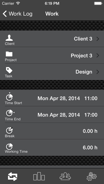 Work Log Ultimate Pro - Plan, Log, Analyze - time tracking made easy screenshot-3