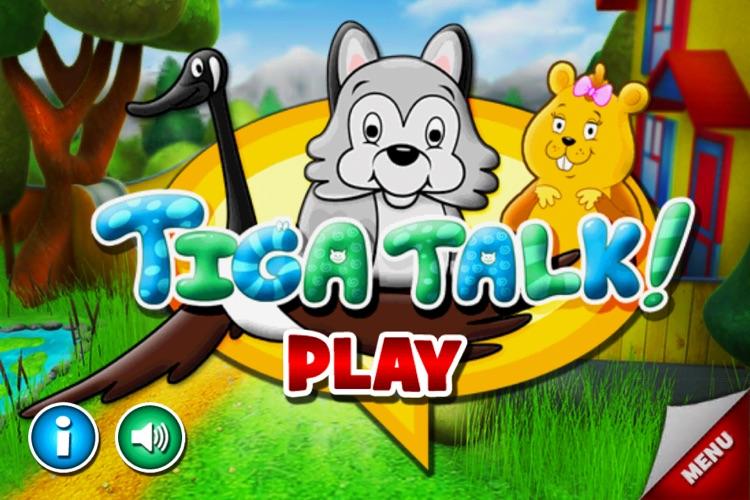Tiga Talk Speech Therapy Games