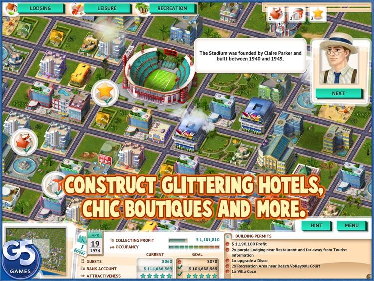 Build It! Miami Beach Resort HD (Full) screenshot-3