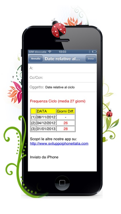 Calcola Ciclo screenshot-4