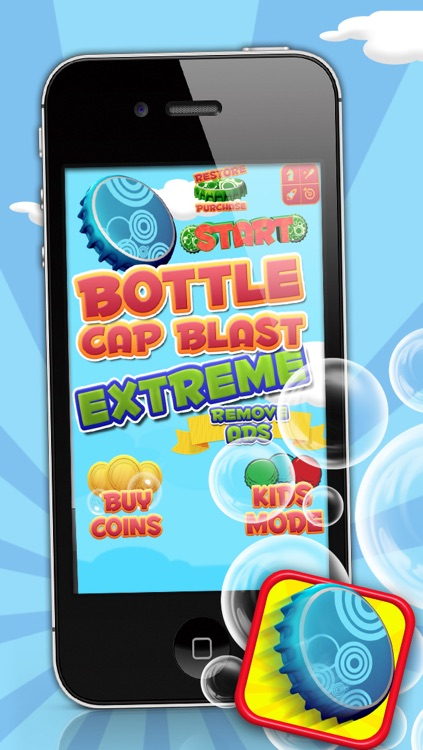 Bottle Cap Blast Extreme - A Fun Jumping Game!