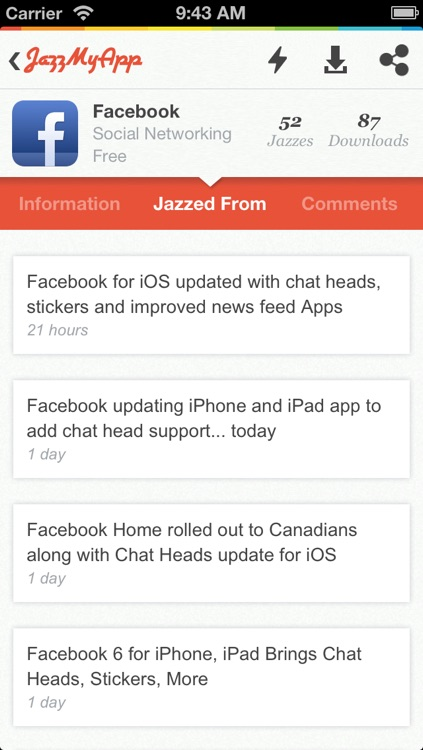 JazzMyApp screenshot-2
