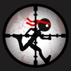 A Stick-man Under Firing Attack: Throw-ing Rocks and Launch-ing Missiles Adventure FREE Game for Kid-s, Teen-s and Adult-s