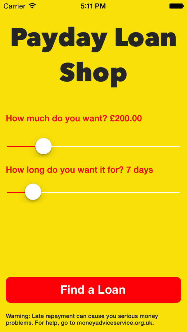 Payday Loan Shop UK