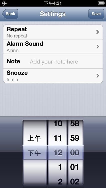 Alarm clock & Sleep timer