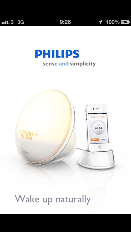 Wake-up Light - Philips screenshot-0