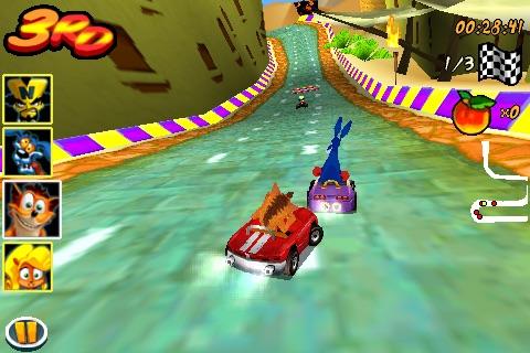 Crash Bandicoot Nitro Kart 3D screenshot-3