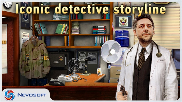 Mysteryville 2 lite: hidden object crime investigation screenshot-0