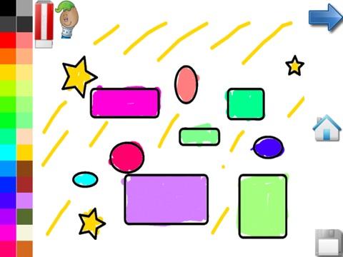 Kleurplaten Vormen Peuters.Kleuren Vormen Voor Peuters Spel Voor Peuters Kleurplaten App