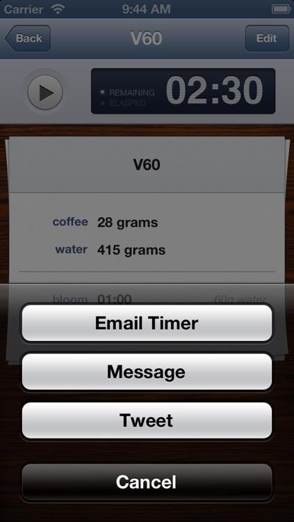 Bloom Coffee Timer screenshot-3