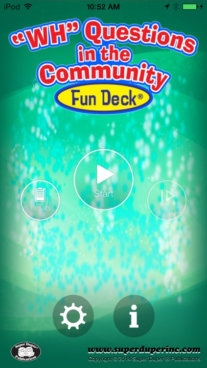 WH Questions in the Community Fun Deck