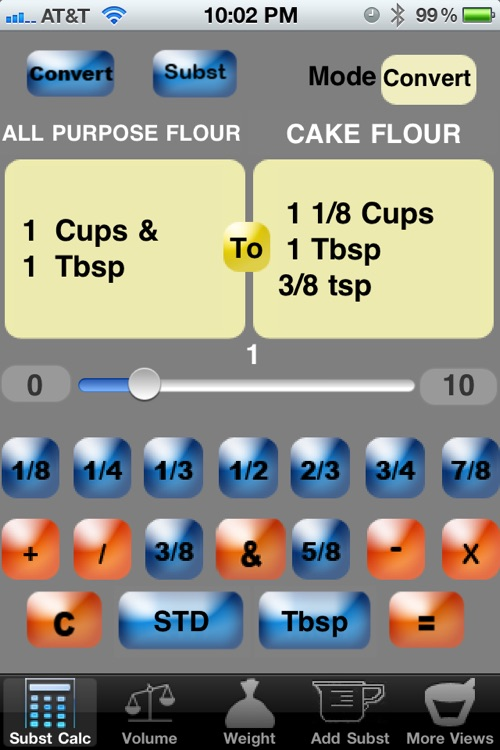 Culinary Calculator for smartphone screenshot-0
