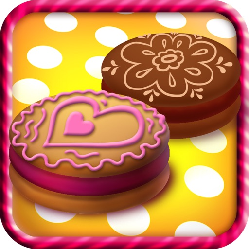 Decorate and Create Crazy Cookies - Dressing Up Game For Kids - ADVERT Free Edition icon