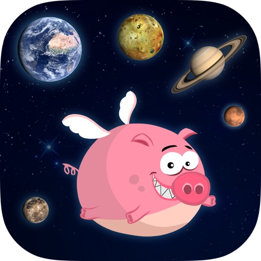 Pig Bang Theory - The Clash between Planets and Flying Pig