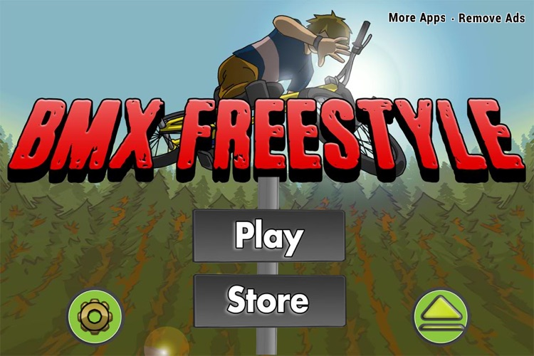 A Tiny BMX Multiplayer Freestyle Race - Extreme Bike Stunt, Dare Devil & Skill Racing Game FREE screenshot-3