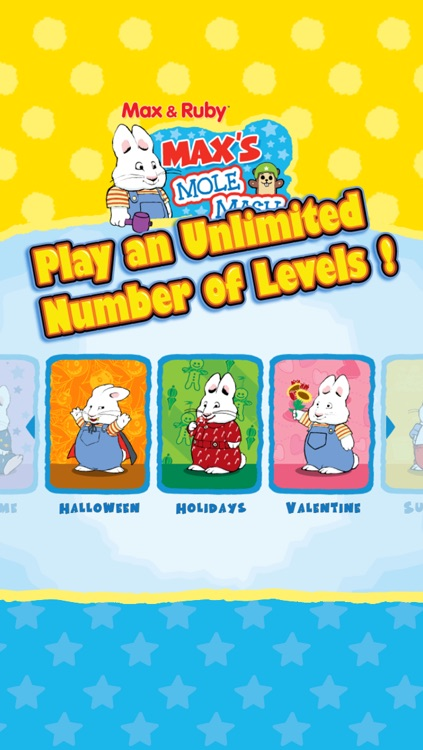 Max & Ruby: Max's Mole Mash screenshot-4