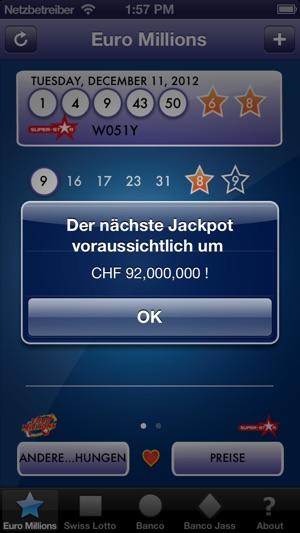 LottoChecker Screenshot