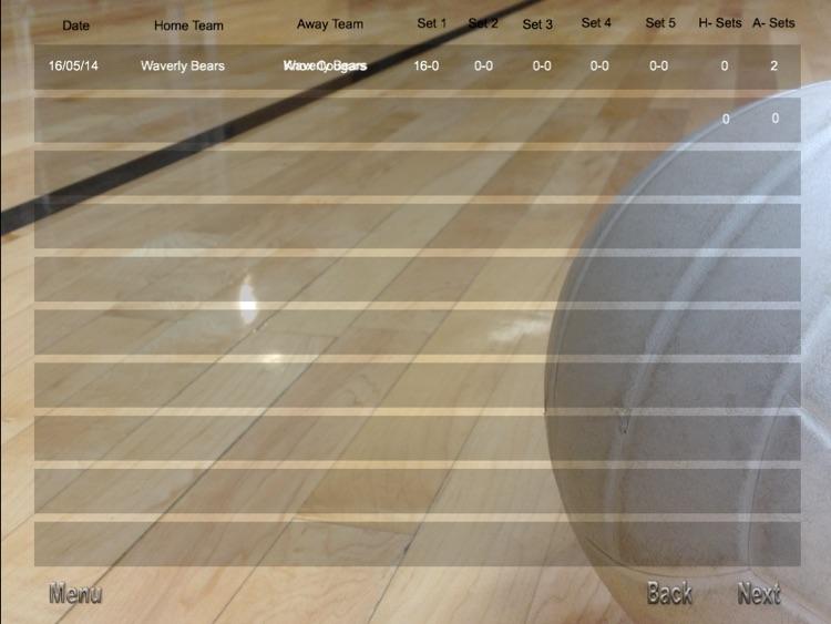 ScoreKeeper - Volleyball screenshot-3