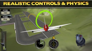 3D Plane Flying Parking Simulator Game - Real Airplane Driving Test Run Sim Racing Gamesのおすすめ画像3