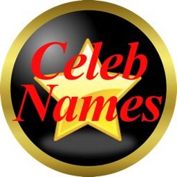 Real Celeb Names